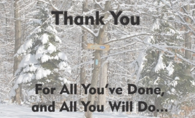 Thank You 2015 Supporters Newsletter Image