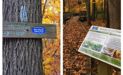 Highlawn Discovery Loop Signage