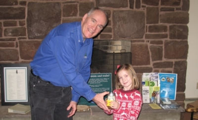 4 year-old Lily Fleming donates her savings to CFPA