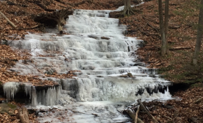 Little Falls in Winter. Photo Credit: Lucy Meigs