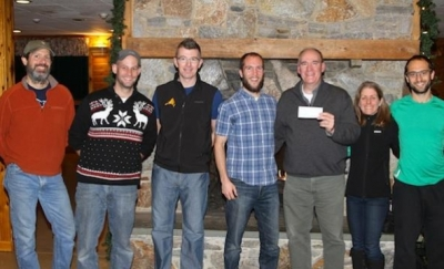 Shenipsit Striders give a check to CFPA!