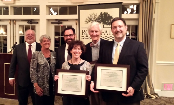 CFPA and CLCC Received Award from the Rockfall Foundation