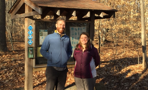 New Staff Members Beth Rhines and Colin Carroll