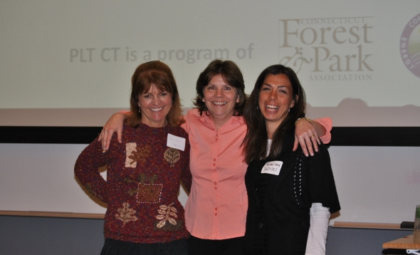 Lori Brant and Environmental Educators at a resent CT Forest Forum