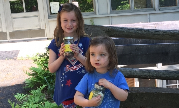 Lily and Clara Fleming donate their savings in support of Connecticut conservation