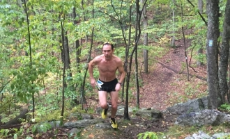 2016 Run for the Woods 10k Winner Marc Robaczynski