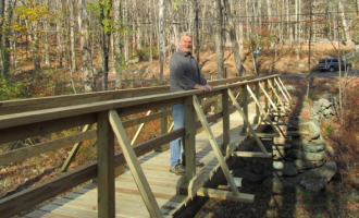 The Aspetuck-Saugatuck Trail Connection is open for hiking